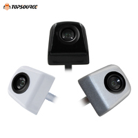 TOPSOURCE HD Auto Car Rearview CCD Camera Back up cam metal Backup Parking Reverse Camera For CAR Monitor GPS Rear View Camera