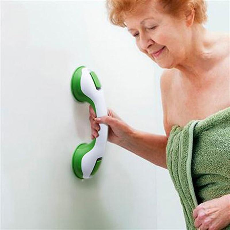 Zhangji Safety Helping Handle Anti Slip Support Toilet bthroom safe Grab Bar Handle Vacuum Sucker Suction Cup Handrail Grip
