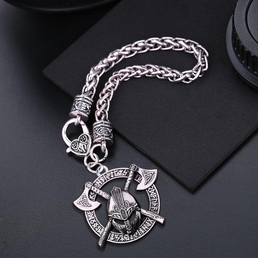 Bracelet casque Viking Odin  3