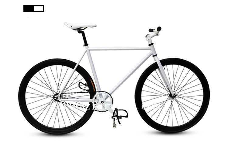 700c Steel Frame Foot Brake Fixed Gear Road Bicycle In Bicycle