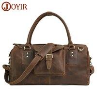 JOYIR люксовый бренд 100% натуральная кожа мужские дорожные сумки багажная дорожная мужская сумка кожаная мужская сумка на плечо большая сумка