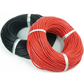 YEAHDRONE Calibre 10 1 metros Vermelho + 1 metro 2 m/lote 10AWG fio de Silicone cabo de 2 M com bens de Alta cabo de alimentação Da fonte Da Fábrica
