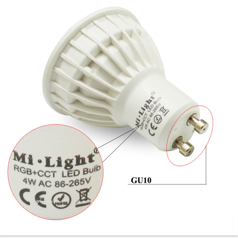 4W RGB+CCT MR16 GU10U
