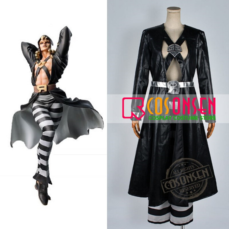 COSPLAYONSEN JoJo s Bizarre Adventure Risotto Nero Cosplay Costume All Size