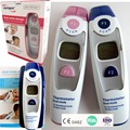 Non-contact Ear & Forehead LCD Digital Infrared Thermometer Baby Adult Body Temperature Monitor CE FDA Pink+Blue