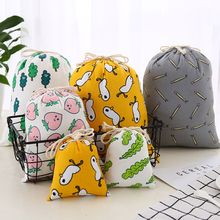 3pcs Women Cute Beauty Makeup Bag PVC Waterproof Drawstring Cosmetic Bag For Make Up Pouch Travel Toiletry Drawstring Bags