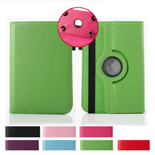360 Rotation Leather Case Stand Cover For Asus Memo Pad HD 7 Me173X Universal Android Tablet PC PAD tablet 7 inch case