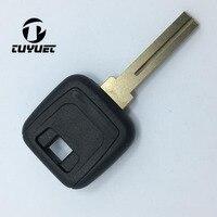 10/20 шт пустые транспондер ключ Shell для Volvo S80 автомобиль заготовки с средний groove