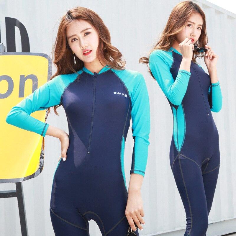 Sexy One Piece Swim Suits Swimsuit Plus Size Swimwear Bikinis Women Long Sleeve Pants Whole Plavky Damy Bayan Mayo Costume De