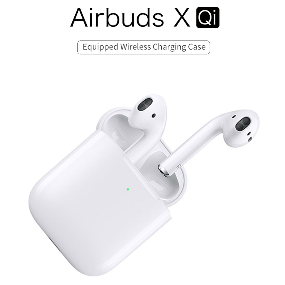 WiWU Bluetooth Earphone Portable Audio Earphones HiFi Sounds Headset Compatible with iOS Android Earphone for Phone
