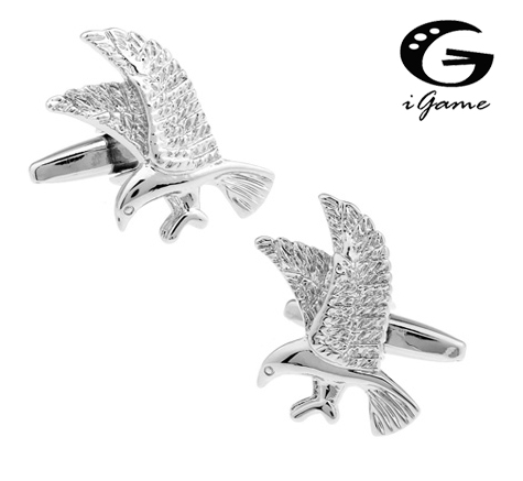 IGame Eagle Cuff Links Unique Bird Design Quality Brass Material Free Shipping