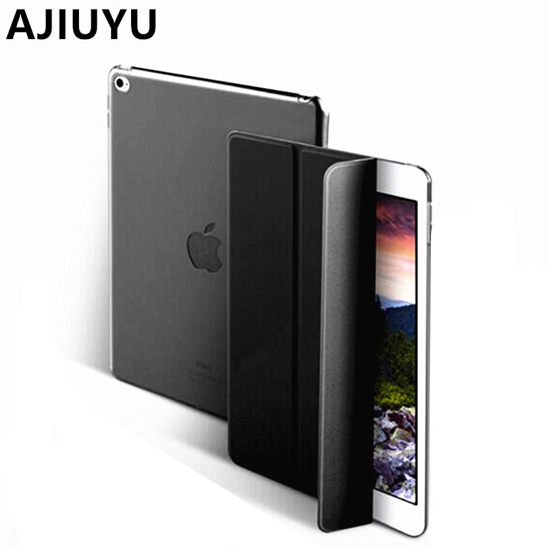 AJIUYU Case For iPad Air 2 Smart Cover Protective Protector Leather PU Tablet For Apple iPadAir2 Sleeve A1566 A1567 Cases 9.7