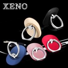 XENO Роскошный 360 градусов Металл палец кольцо держатель смартфон мобильный телефон Finger Стенд держатель для iPhone 7 6 Samsung Планшеты 8 9 10