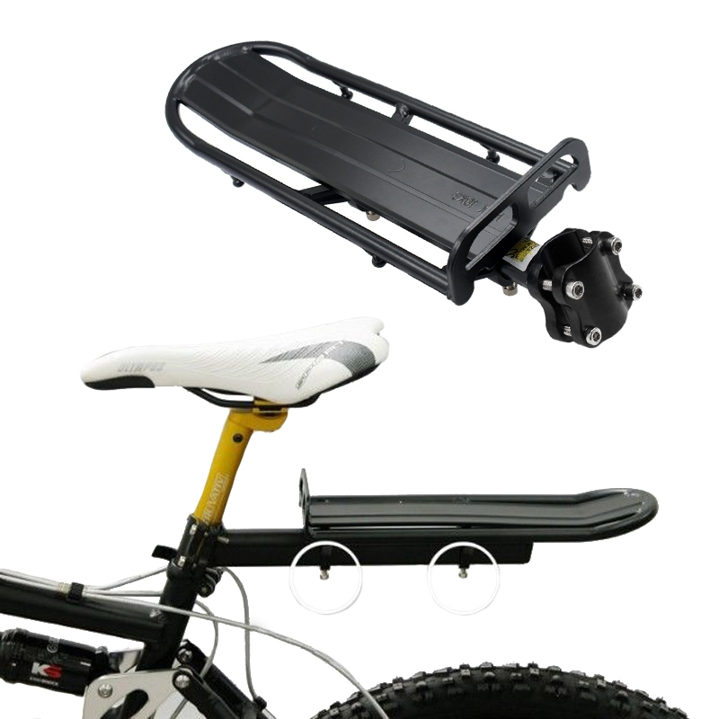 Bicycle Rack Adjustable Bicycle Luggage Carrier Holder Aluminum Alloy Bike Mount Rear Seat Rack Trunk For Bicycle Accessories