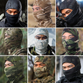 9Color Tight Multicam Camo Balaclava Armd Tactical Airsoft Hunting Outdoor Military Motorcycle Cycling Protection Full Face Mask