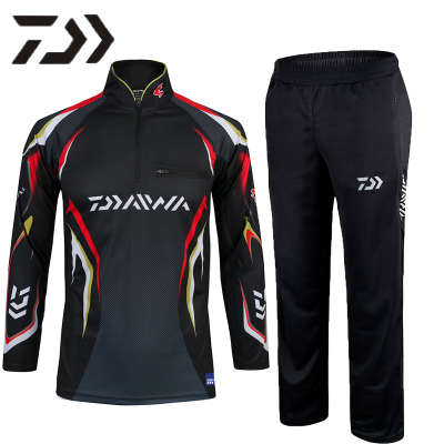 2017 NEW DAIWA Fishing clothes pants coat outdoors suit Sunscreen DAWA Breathable summer Anti mosquito DAIWAS Free shipping