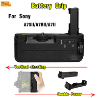 Camera handle Vertical shooting Double Battery case Pixel Battery Grip For Sony A7SII/A7RII/A7II Vertical shutter Macro AG C2