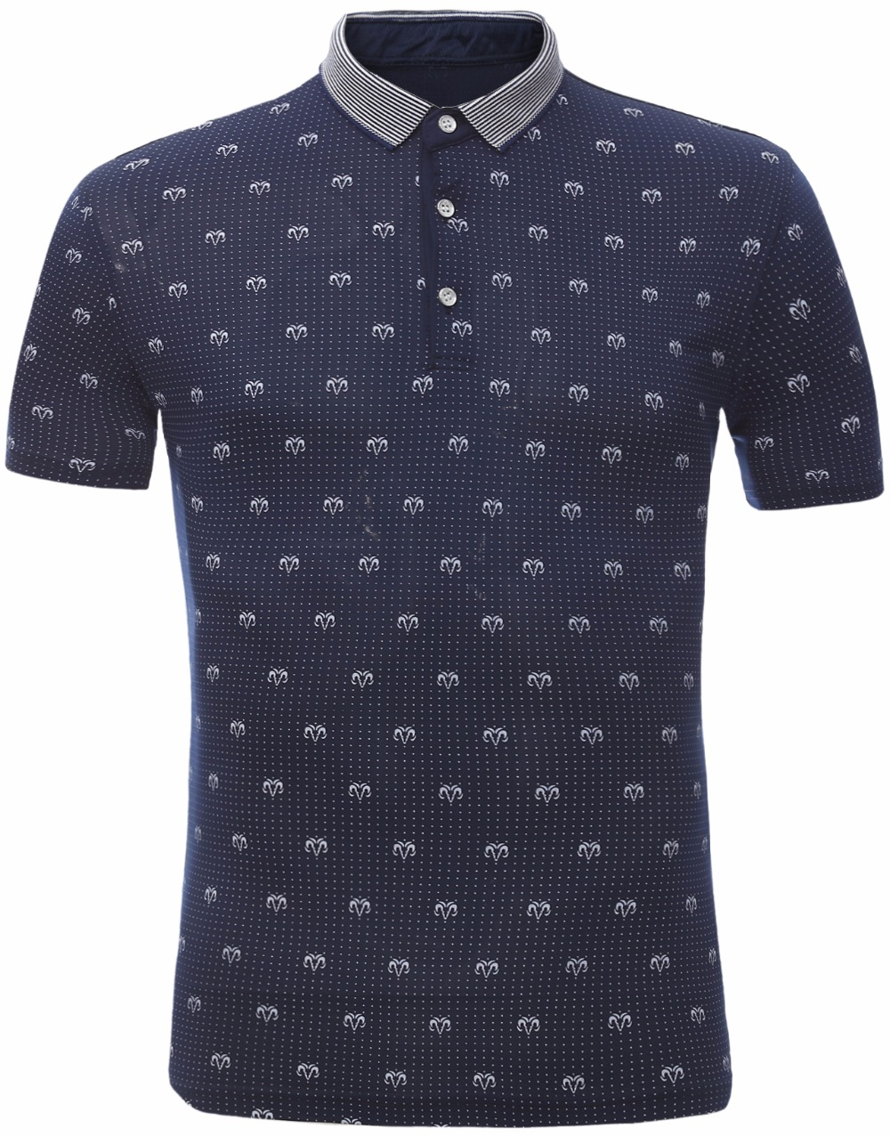 Buy men polyester print polo shirts 2016 for Men s polyester polo shirts