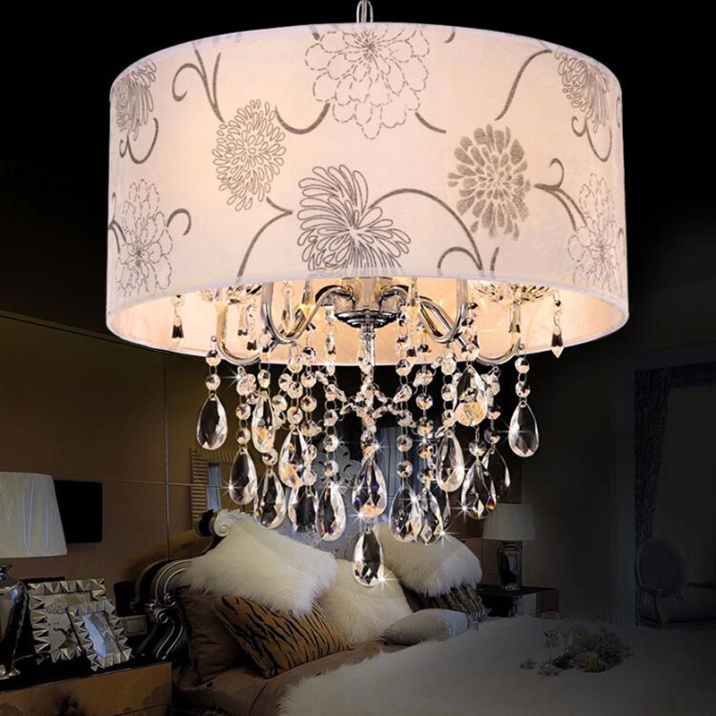 Modern Crystal Chandelier K9 Crystal Lustre Led