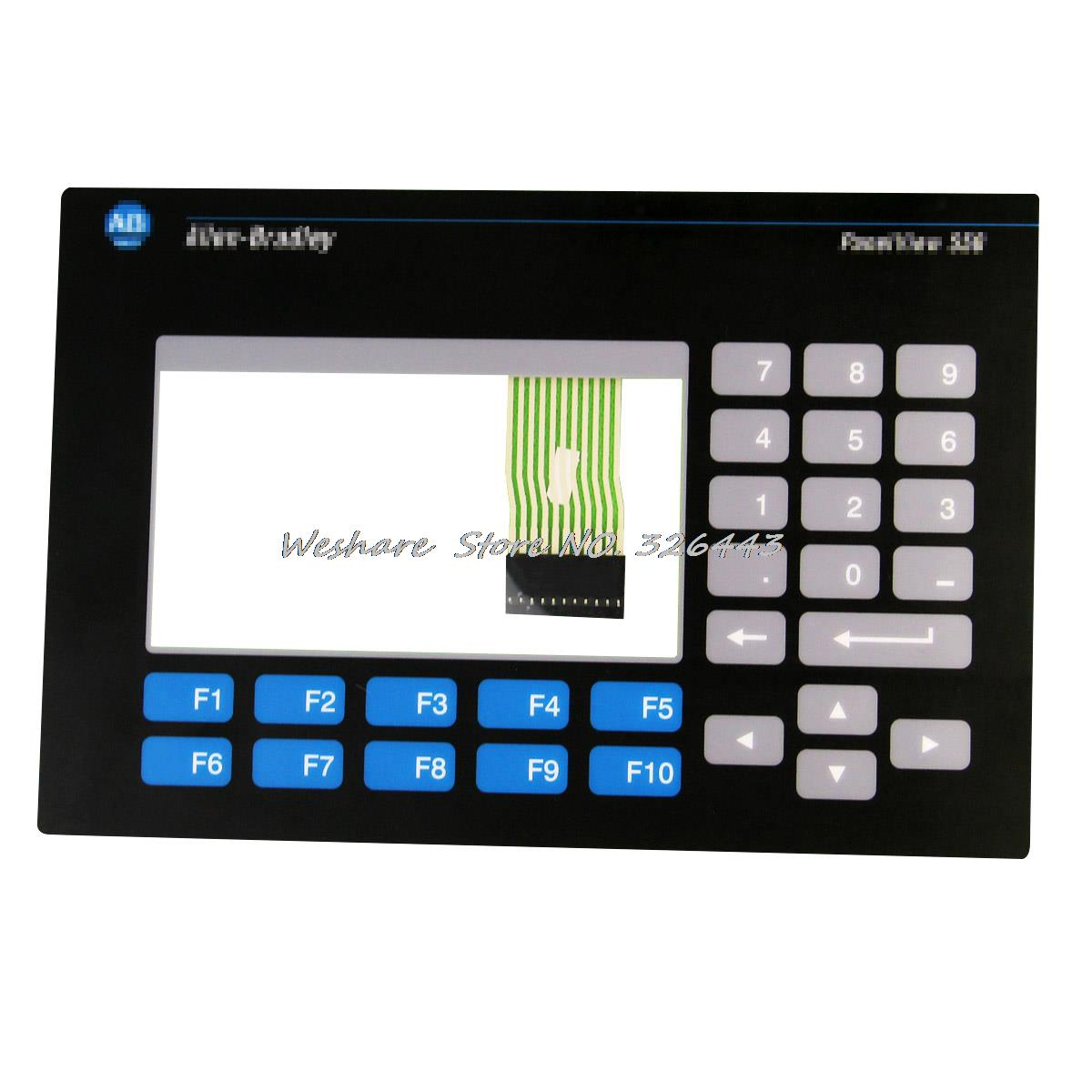 Hot Sale Allen-Bradley Panelview 550 2711-B5A3 2711-B5A5 Membrane Keypad + Touch Panel new industrial membrane switch keypad 2711p k10c4d2 for ab allen bradley panelview plus 1000