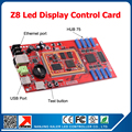 New Arrival Full color LED display controller Z8 led video display control card HUB75 port led display control system