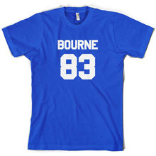 Bourne 83 - Mens T-Shirt James Tour  Free UK P&P Print T Shirt Short Sleeve Hot Tops Tshirt Homme freeshipping