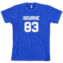 Bourne 83 - Mens T-Shirt - James - Tour -   - Free UK P&P Print T Shirt Mens Short Sleeve Hot Tops Tshirt Homme freeshipping james hospitals t
