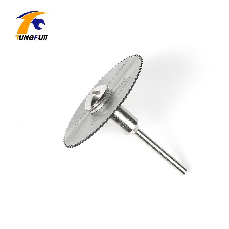 Tungfull HSS Set di lame circolari per legno Disco da taglio in - Accessori per elettroutensili - Fotografia 5