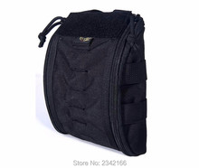 Hot Saling FLYYE genuine MOLLE Tactical Trauma Kit Pouch Military camping hiking modular combat CORDURA FY-PH-C042