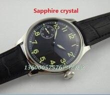 Сапфировое стекло ПАРНИС чайка M222S/T3600 Механическая Рука Ветер движения машины механические часы pilot мужские часы