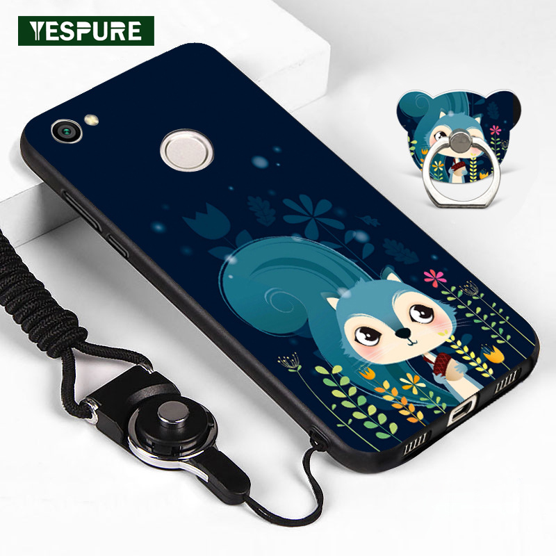 YESPURE Lovely Animal Mobile Case for XIAOMI Cheap Smartphone Funda Celular for REN MI NOTE 5A Drop Shipping Anti-knock image