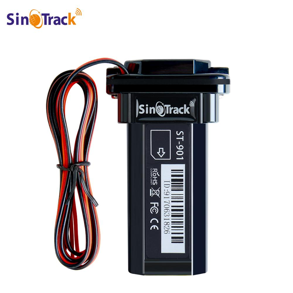 Mini Waterproof Builtin Battery GSM GPS tracker ST-901 for Car motorcycle vehicle 3G WCDMA device with online tracking software web page