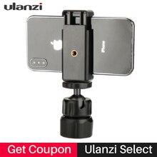 Универсальный держатель штатива для телефона с зажимом и шариковой головкой на 360 градусов, винт 1/4 дюйма для iPhone, huawei, смартфона, экшн-камеры
