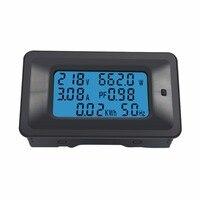 CHAUDE Numérique AC Tension Mètres 110 ~ 250 V Puissance D'énergie analogique Voltmètre Ampèremètre watt actuel Ampère voltmètre LCD panneau Moniteur
