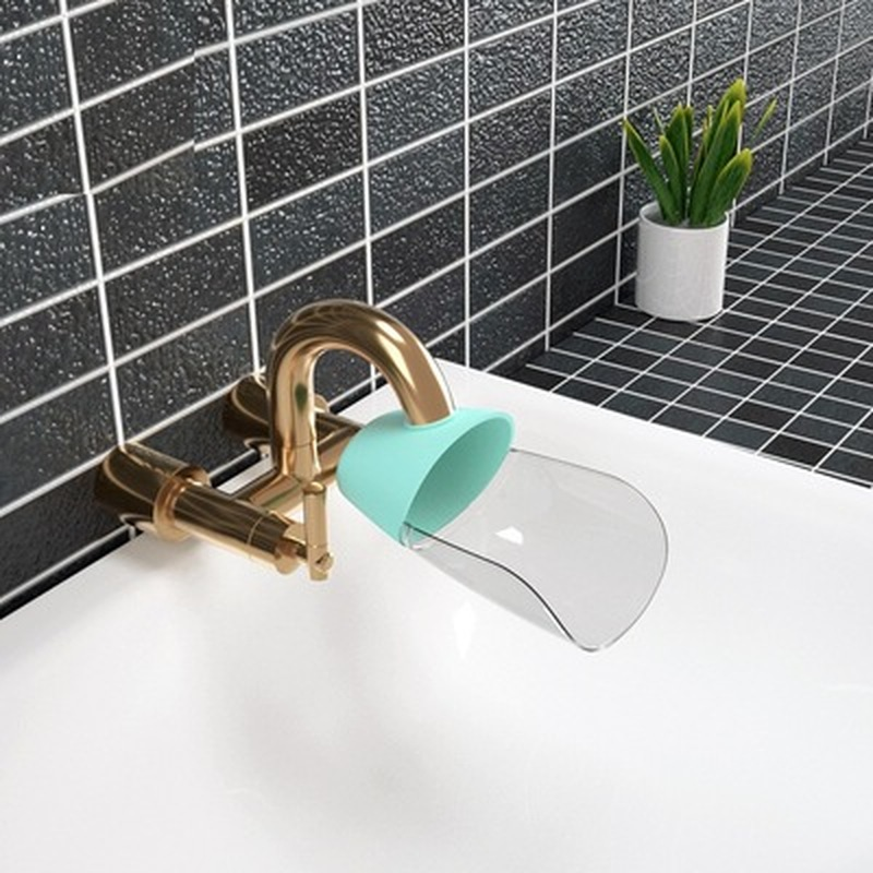 Permalink to Faucet extender for kids Toddler Baby splash-proof Sink faucet extension Bathroom Accessorie Kitchen Save Water Faucet Tools