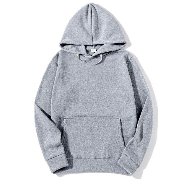 10bd988e3ea3 IGGY 2017 New brand Hoodie Streetwear Hip Hop red Black gray pink Hooded  Hoody Mens Hoodies and Sweatshirts Size M XXXL-in Hoodies   Sweatshirts  from Men s ...