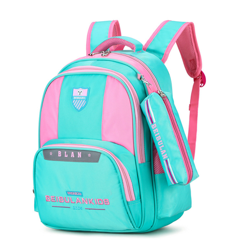 Backpack Boys Girls 8-12-Years-Old Travel-Bag Primary-School-Bags Children Cute Sweet