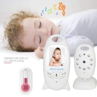 VB601 Wireless Video Color Baby Monitor with High Resolution 2.0 inch LCD Screen Talk Night Vision Temperature Monitoring