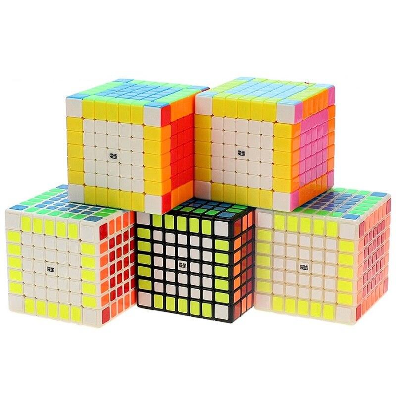 YJ MoYu 70mm AoFu GT 7X7X7 Speed Puzzle Cube Professionnel Twist Cubes Cubo Magico Classique d'apprentissage Jouets Éducatifs Enfant Cadeaux