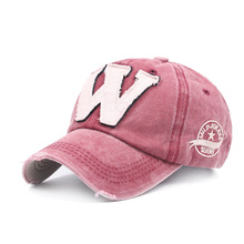 Cotton letter embroidery W Patch baseball cap women snapback cap fitted bone casquette Dad hat for men customize gorro