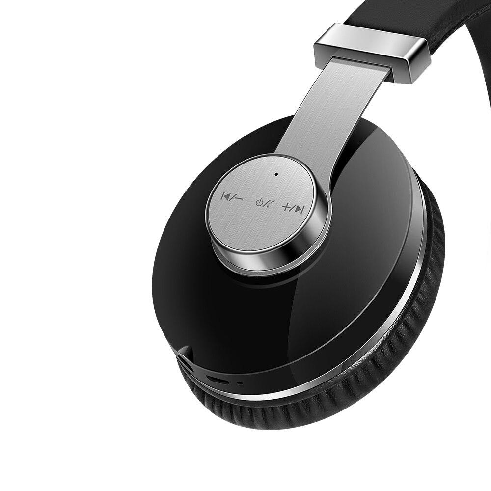 Casque sans fil Bluetooth casque pliable casque réglable écouteurs avec Microphone pour PC Xiaomi Huawei téléphone ipod T9