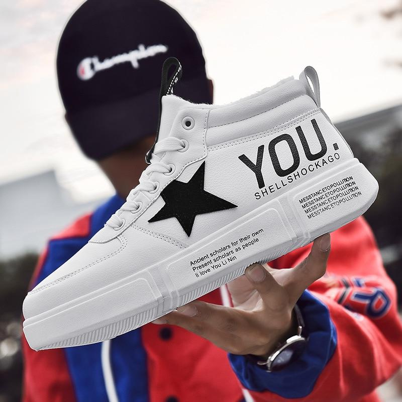 Da A De vermelho Preto branco Moda Sapatos Alta ajudar Masculinos Coreana 2019 Nova Versão qgRwzU