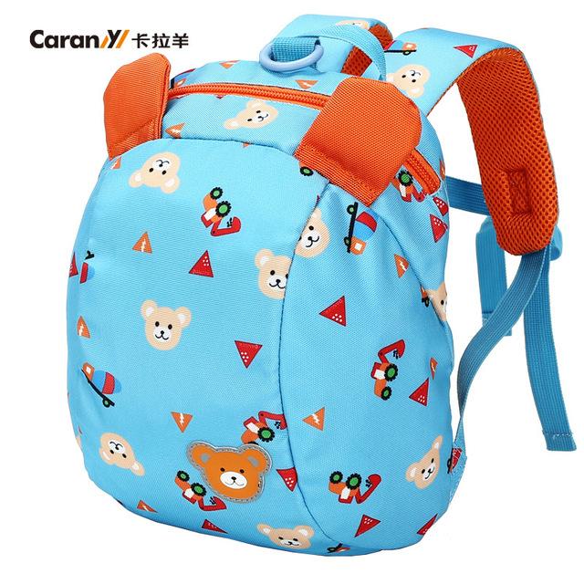 Laptop mochila crianças saco de transporte à prova d' água super leve saco de turismo de lazer mochilas Crianças da escola sacos de 1 ~ 3 anos de idade do bebê anti perdido