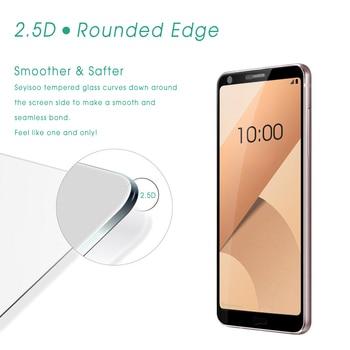 [2 упак.] 100% оригинал Seyisoo Премиум 2.5D 9 H 0.3 мм Полное покрытие закаленное Стекло Экран протектор для LG G6 G 6 Lgg6 Детская безопасность Плёнки