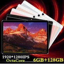 Новый 2019 MT8752 6 ГБ оперативная память + 128 Встроенная 10,1 'Планшеты Android 8,0 8 Octa Core двойной камера 8MP двойной планшет с сим-картой PC gps bluetooth телефон