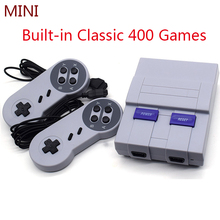 Game Console Retro Classic Handheld Game Player Console Portable Mini Family TV Video Consoles Built-in 400 Games Dual Gamepad