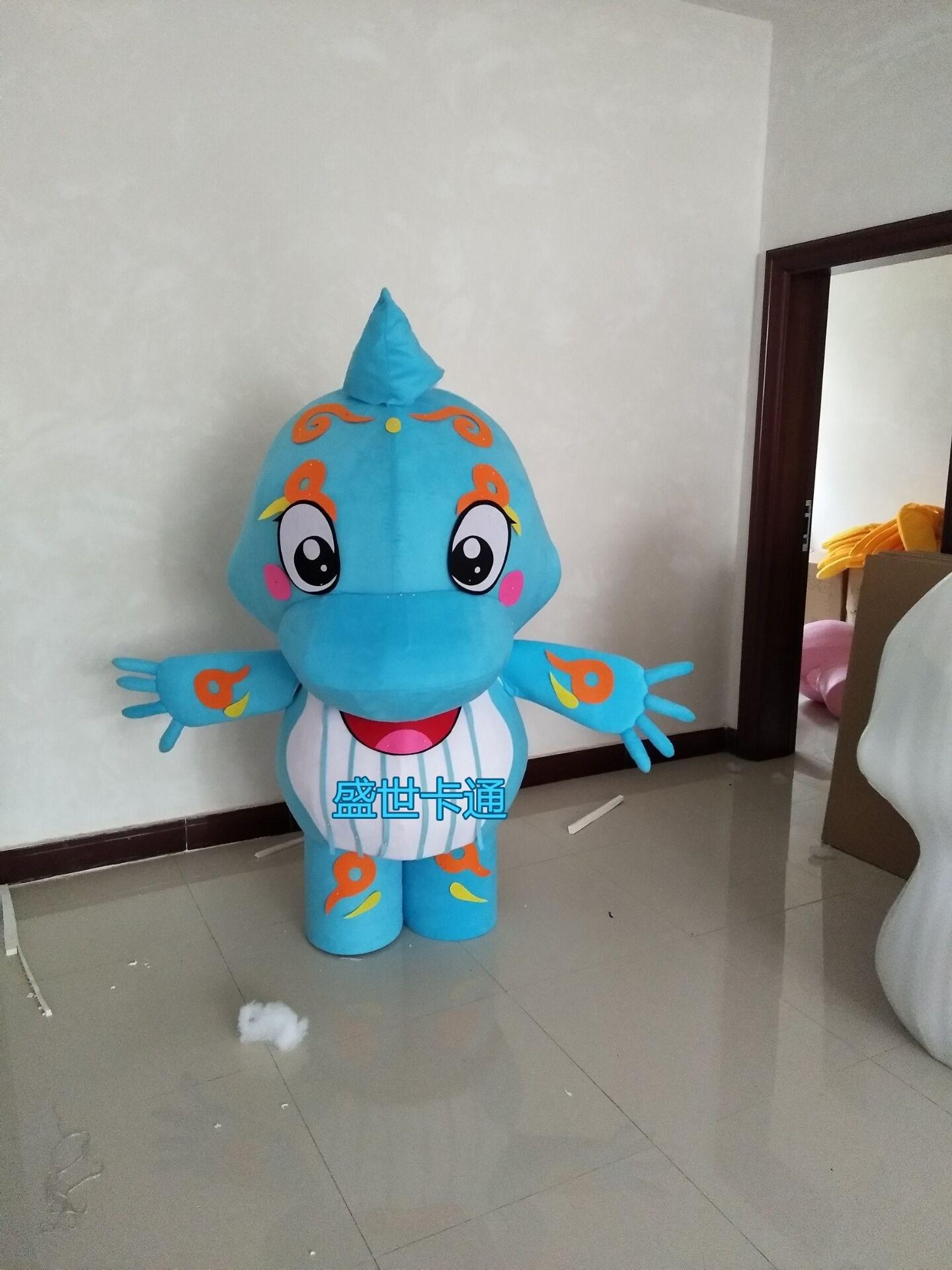 Offre spéciale 2018 adulte mignon cheval de mer mascotte costume cosplay thème mascotte carnaval costume fantaisie fête robe de noël cadeau