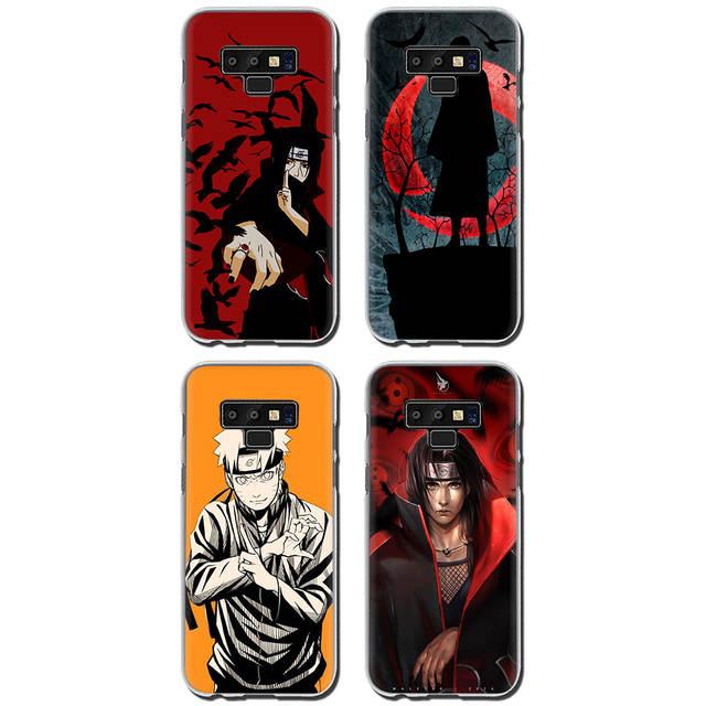 8ee65a3978 Naruto Itachi Uchiha Hard phone cover case for Samsung Galaxy A3 5 2017 A6  7 8 9 2018 A10 30 40 50 70