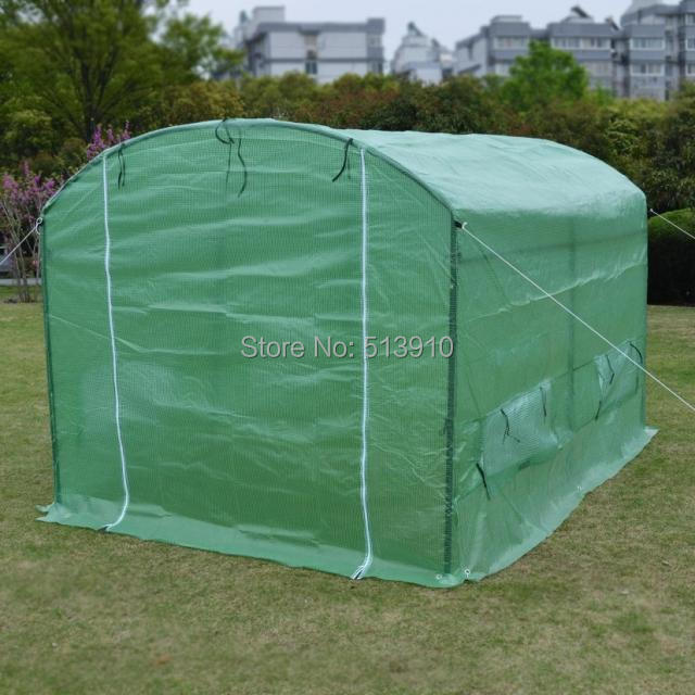 Garden Covers For Vegetables Part - 41: Garden Greenhouse Arched Veranda Conservatory Grow Vegetables Roof  Insulation Cover Greenhouse Warming Export Quality ...