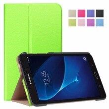Para Galaxy TabA 7.0 T280 Lujo ultra delgada Elegante de Cuero de LA PU caso protector de la cubierta para samsung galaxy tab a 7.0 t280 t285 soporte